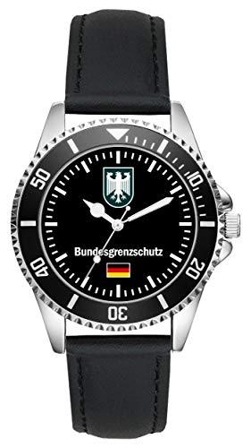 Bundesgrenzschutz Polizei Geschenk Artikel Idee Fan Uhr L-1055