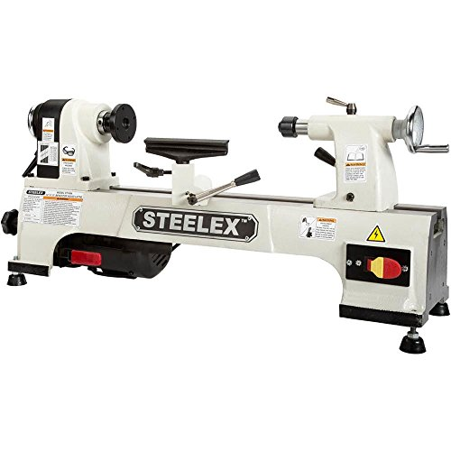 4 Steelex ST1008 Benchtop Wood Lathe