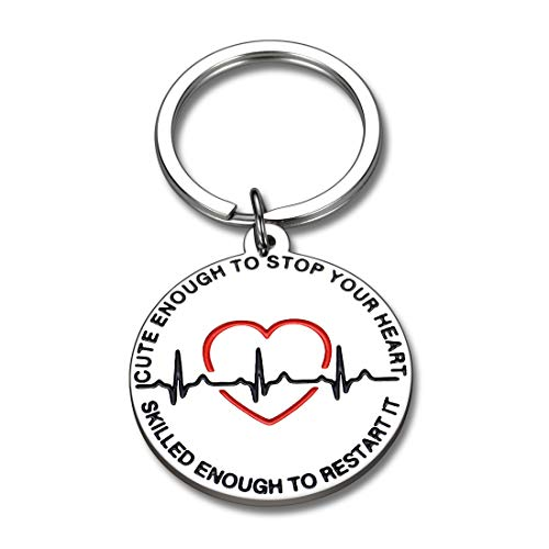 Product Image 1: Nurse Gifts Nurse Keychain for Women Graduation Nursing Student Gifts for Female Inspirational Nurses Day Gifts for Future Nurse Her Birthday Valentines Christmas Appreciation Gifts for Nurse Friend