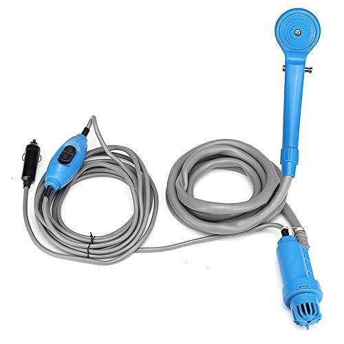 Portable buitendouche Kit - Handheld Camping douchekop Set - 12V Cigarette Adapter - Geschikt voor Pet, Auto, Wassen, Camp, Tuin & Baby Douchen