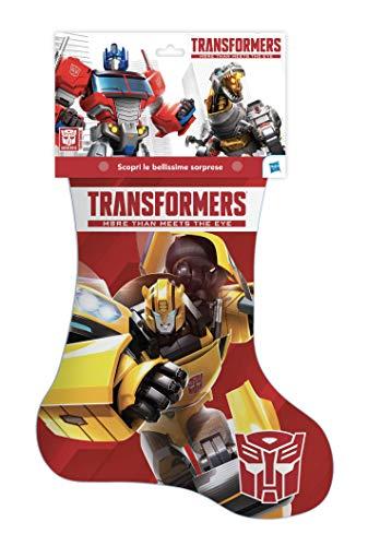 Hasbro- Calza della Befana 2020 Transformers, Multicolore, C77754500