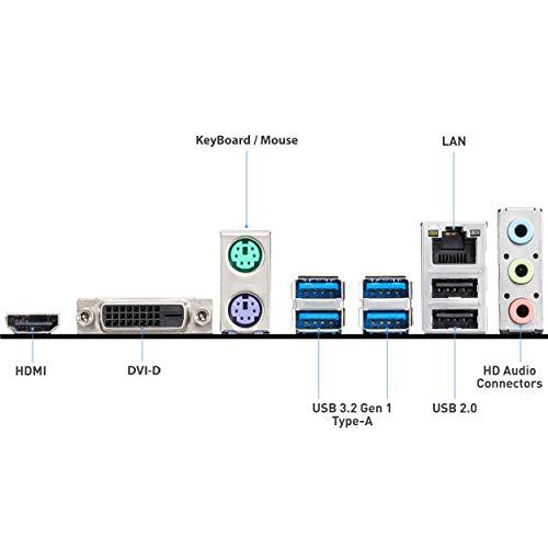 Scheda madre MSI B550M-A PRO (AMD Ryzen 3000 terza generazione AM4, DDR4, M.2, USB 3.2 Gen 1, HDMI, Micro ATX)