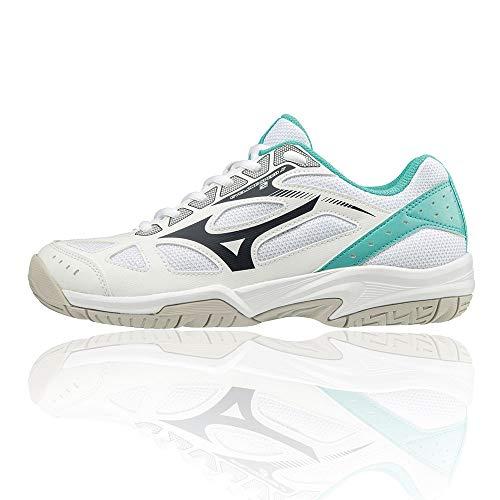 Mizuno Cyclone Speed 2 Junior Indoor Court Shoes J55 Blue