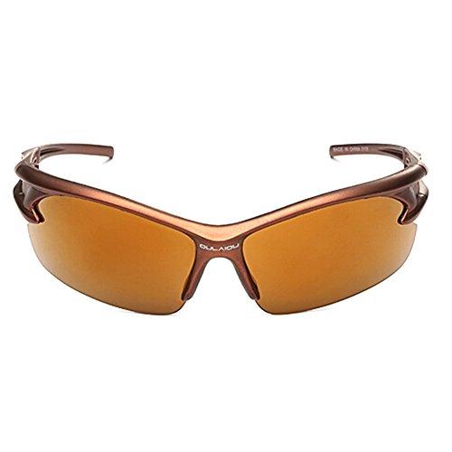 iKulilky - Gafas de Sol Deportivas para Bicicleta, con protección UV400, para Hombre y Mujer, para Conducir, Golf, Pesca, Correr, Ciclismo, superligeras, Marco, Color #9, tamaño Talla única
