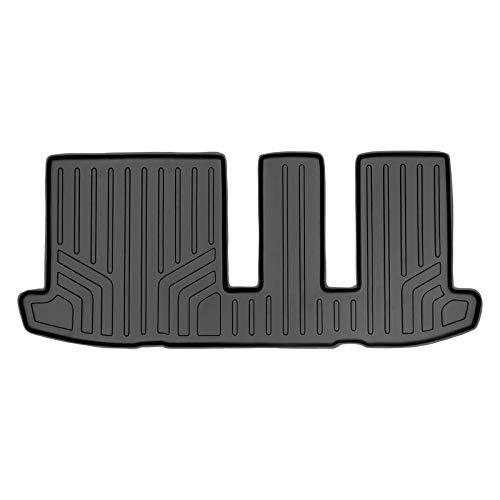 MAXLINER All Weather Custom Fit 3rd Row Black Floor Mat Liner Set Compatible With 2013-2020 Nissan Pathfinder/ 2013 Infiniti JX35/ 2014-2020 Infiniti QX60