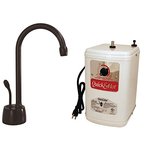 Westbrass D271H-12 Velosah Hot water dispenser with Tank, Faucet & Instant, Oil Rubbed Bronze