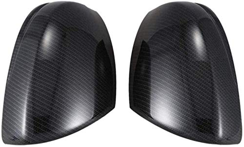 LIUJTAO, per, per Honda Fit Jazz 2014-2018 2 Pezzi Copri specchietto retrovisore per Auto Accessori per Finiture a Conchiglia - Nero
