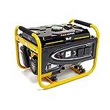 Wolf Petrol Generator 2500w 3.12KVA 5.5HP 4 Stroke Single Voltage Portable Caravan - 2 Year Warranty