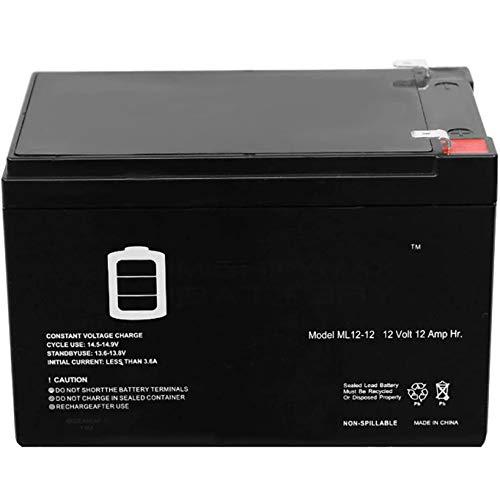 All-Purpose Batería de Gel para E-Bike (Bicicleta Eléctrica) 12V 12Ah Fuente de alimentación de Emergencia 12V12ah