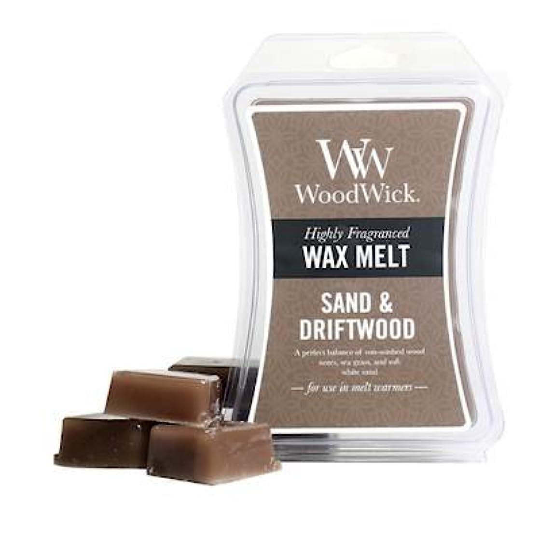 WoodWick Sand & Driftwood Wax Melts