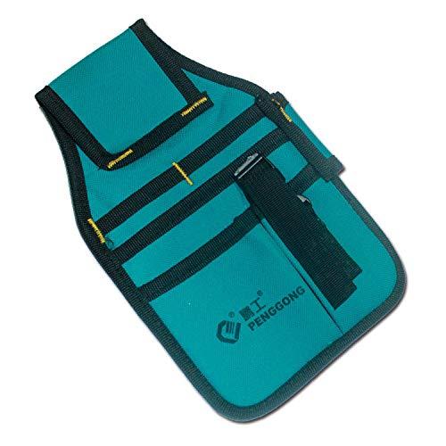 Pengong Werkzeugtasche für Bohrmaschine, Schraubendreher, Wasserdicht, Nylon, für Zimmermannswerkzeuge, Gürteltasche, Tasche für Bohrer, Hammer