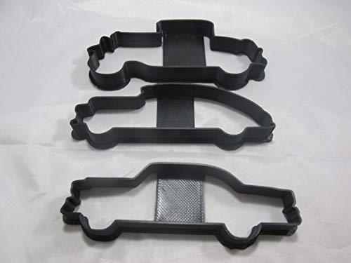 Set of 3 Classic Car Cookie Cutters