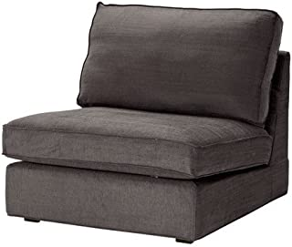 KIVIK Cover one-seat section - Tullinge gray-brown - IKEA
