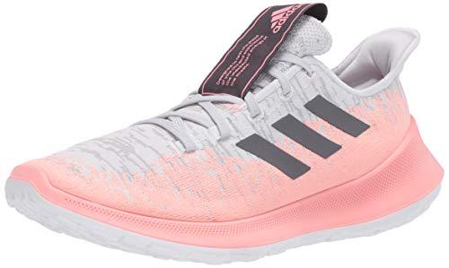 adidas Women's Sensebounce+ Running Shoe, Grey, 10 M US