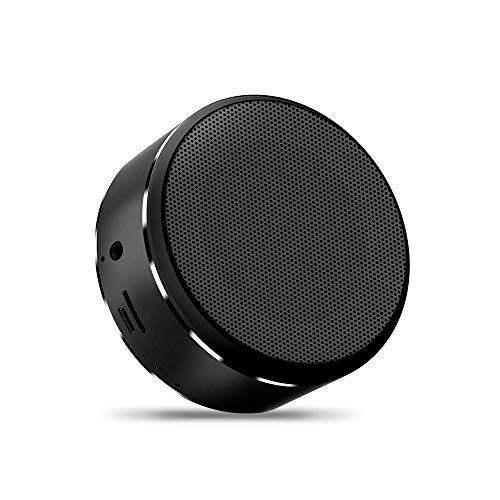 HN A5 Bluetooth Lautsprecher Wireless Karte Subwoofer Bluetooth Audio Wireless Audio Laptop Bluetooth Lautsprecher Drop-Proof Sprachaufforderung Karte Radio Anti-Staub-Anruf NFC,Black