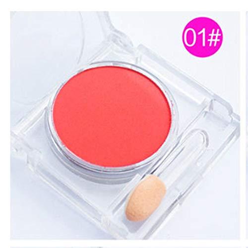 Rouge-Palette Nude Make-up Rouge-Puder-Kosmetik Schlanke koreanische Make-up-Wange Schlanke weiche...