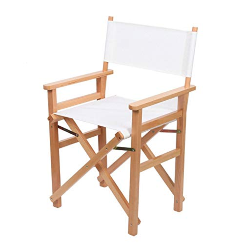 Niuniu Houten klap Director Chair Oxford stof zitting voor tuin binnen- en buitenmasker stoel