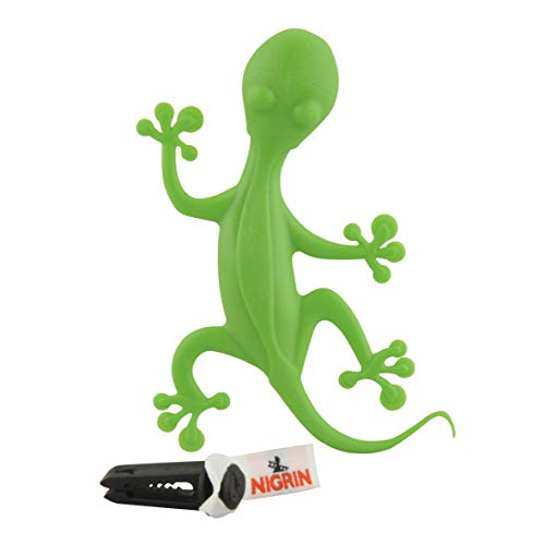 NIGRIN 74684 Lufterfrischer Gecko, grüner Apfel