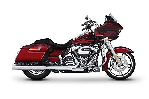 500-0182C Rinehart Racing DBX40 4' Chrome Slip-Ons with Chrome End Caps 2017-Newer Harley Touring