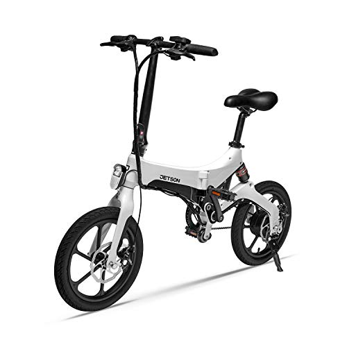 Jetson Metro Folding Electric Bike with Twist Throttle, 3...