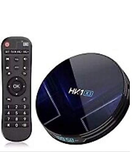 Android 9.0 TV Box HK1 X3 [4G + 128G] 4K 4.0 Wifi 2.4G / 5G LAN 100M De Cuatro Núcleos Cortex-A55 Amlogic S905X3 Inteligente Android TV Box HD S905X3 Boitier Android TV Bluetooth Ultra,4gb+128gb