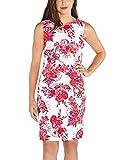 Mario Serrani Ladies Shift Dress(Fuscia Floral, 2)
