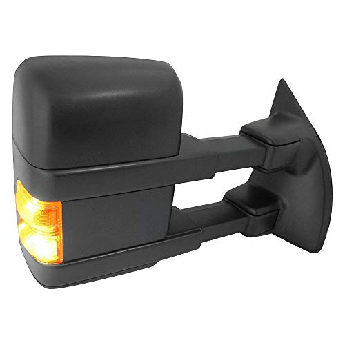 Lowest Prices! Value Right Mirror Heated In-housing Signal Light Passenger Side RH Hand For Ford F-2...
