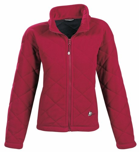Marinepool Damen Jacke Brisbane Fleece Jacket Women, Red, XL, 5000459-300-200