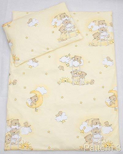 2/pcs Junior Parure de lit de lit pour b/éb/é/ /150/x 120/cm Housse de couette et taie doreiller/ /Motif 2