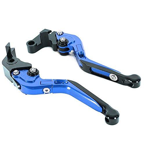CNC Racing Motorrad-Bremshebel/Kupplung, verstellbar, faltbar, ausziehbar, für...