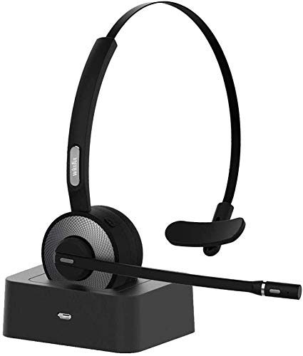 Willful Auriculares con Micrófonos,Auricular Bluetooth Cascos PC con...