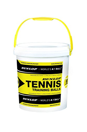 Dunlop Tennisball Training-drucklos, Gelb, One size