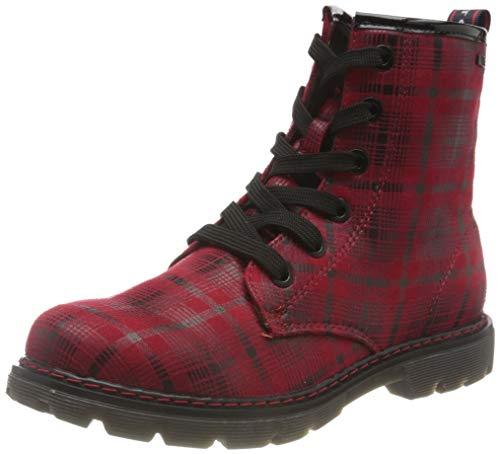 Tom Tailor Jungen Mädchen 9071616 Halblange Stiefel, red, 34 EU