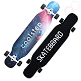 WHYHB Patinetas Skateboard Completo de Downboard/Dancing Longboard Adultos Freestyle Street Road Skate Longboard 4 Ruedas