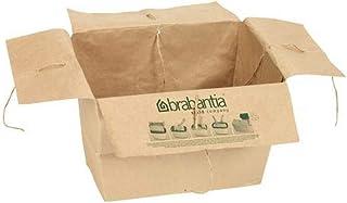 Brabantia 395604 Sacs en Papier pour Boîte à Papier Marron