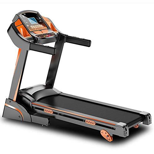 AICKERT Tapis roulant professionale | elettrico e pieghevole |Macchina Fitness da 1300 W, 12 Programmi di Allenamento e Cardiofrequenzimetro, fino a 14 km h, portata 120 kg, adatto per casa, uff