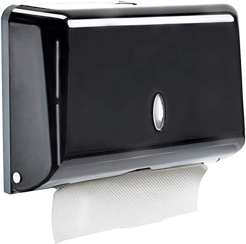Dispensador de Toallas de Papel Manual en Zig-Zag Dispensador de Papel Comerciales Secamanos Montado a Pared para Baño Cocina, admite 200 Papel