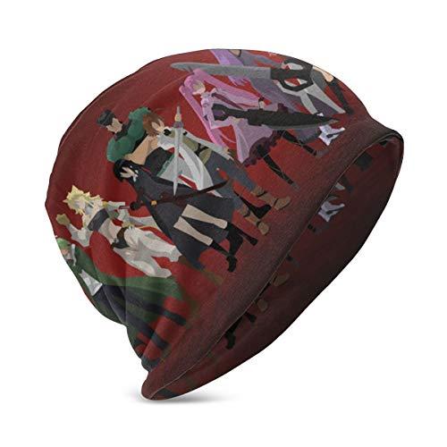 Akame Ga Kill Minimalism Akame Leone Lubbock Najenda Mine (Akame Boyss Winter Hat Beanie Warm Skull Cap