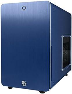 RAIJINTEK Styx Micro-Tower Azul - Caja de Ordenador (Micro-Tower, PC, Aluminio, SPCC, Azul, Micro ATX,Mini-ITX, 18 cm)