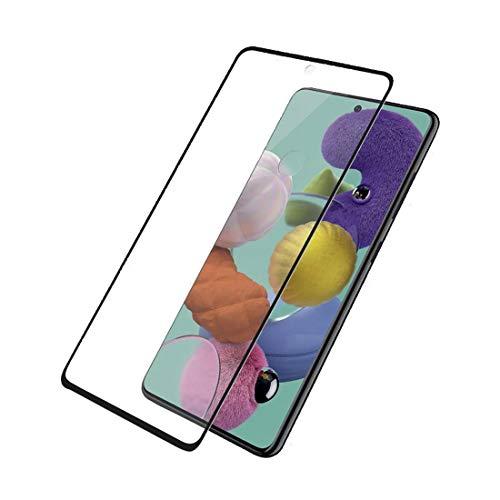PanzerGlass Displayschutz Schutzfolie, transparent/schwarz, Samsung Galaxy A51