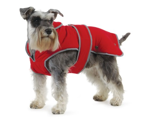 Ancol Muddy Paws Stormguard Coat Red Medium ( Length 40cm/ to fit girth 52-68cm)
