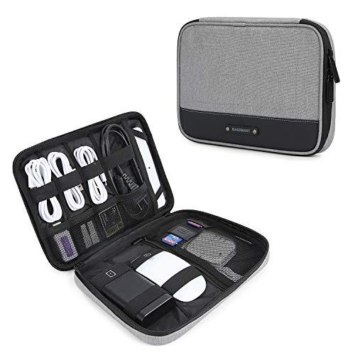 bagsmart Elektronische Tasche Elektronik Organizer Reise fur Handy Ladekabel Powerbank USB Sticks SD Karten