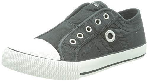 s.Oliver Damen 5-5-24635-26 001 Slipper, Black, 37 EU