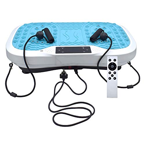 Sterling Power Vibration Exercise Machine, Vibrating Plate Weight Loss Vibrator Power Body Fit Massage Device Slimming Fitness 200-300W, Handling Up to 180 kg Color