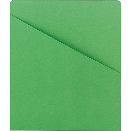 SMD75432 - Smead 75432 Green Slash Jackets