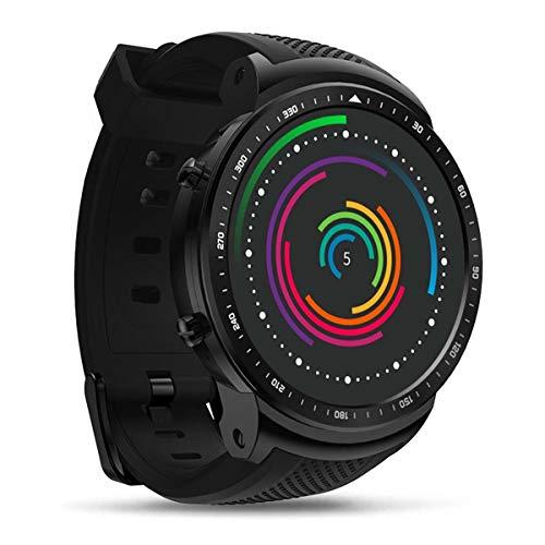 "3G Reloj inteligente,GPS Wifi MTK6580 Quad Core 1GB / 16GB Bluetooth 4.0 1.53 \""Relojes de pulsera Nano SIM Monitor de pulso cardiaco Android 5.1 5.0MP 580mAh para Hombres Rastreador de actividad"