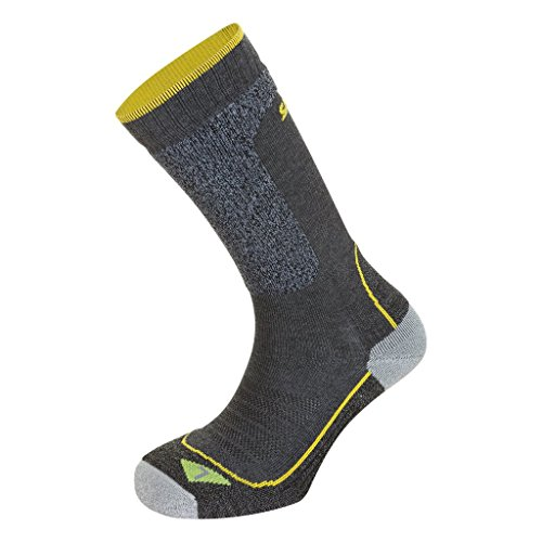 Salewa Trek Balance SK – Chaussettes Unisexe, Homme, Trek Balance SK, Gris (Grey Melange / 2080)