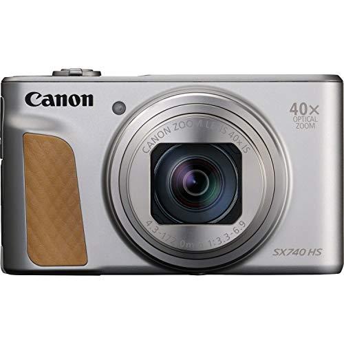 """Canon PowerShot SX740 HS Cámara compacta 20,3 MP 1/2.3"""" CMOS 5184 x 3888 Pixeles Plata - Cámara digital (20,3 MP, 5184 x 3888 Pixeles, CMOS, 40x, 4K Ultra HD, Plata)"""