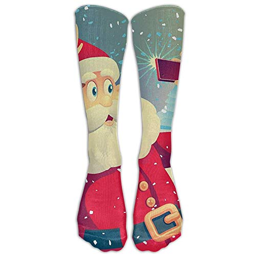 iuitt7rtree Unisex Love Knee High Winter Socks Not 3D Print...