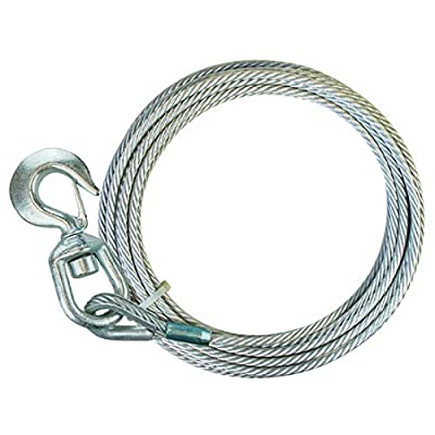 Premium Steel Core Winch Cable with Swivel Hook